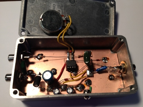 VLF Receiver Inside