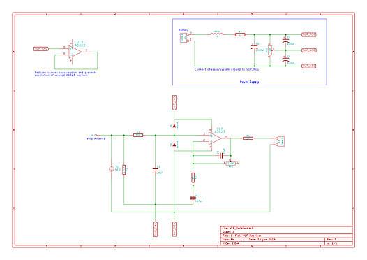 VLF Receiver Schematic