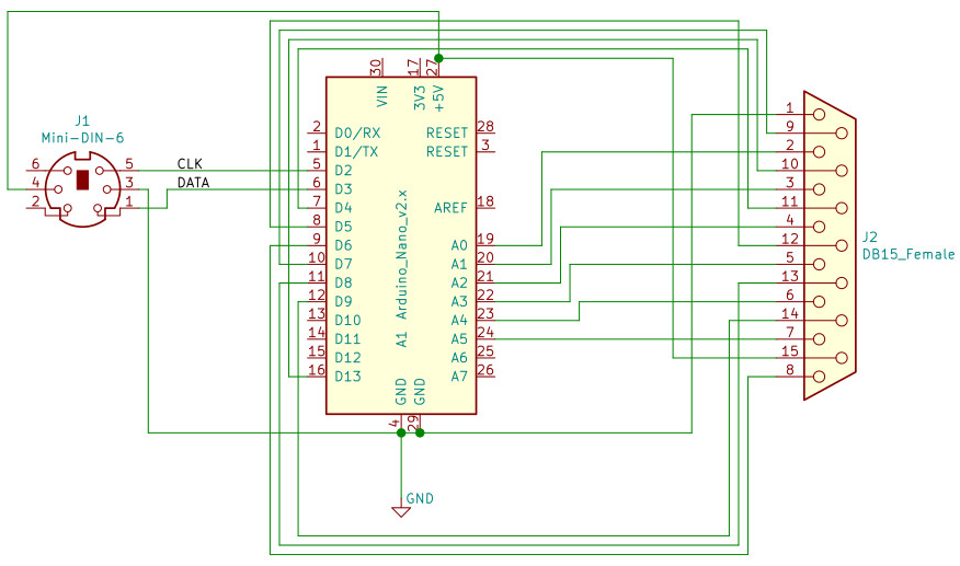 PS/2 Adapter Circuit